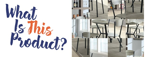 5 Piece Dinette Set: Can You Guess Which Product?