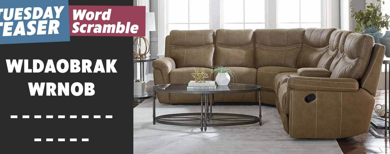 3 Cheers For This 3 Piece Reclining Sectional | Tuesday Teaser