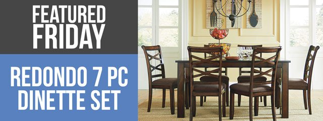 So Fond-o of The Redondo 7 Piece Dinette set | American Freight Blog