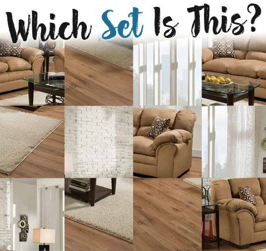 Tan Sofa and Loveseat Set: Can You Guess Which?