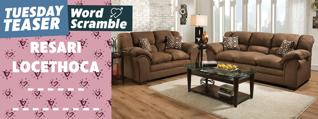 Top-Selling Sofa and Loveseat Tuesday Teaser