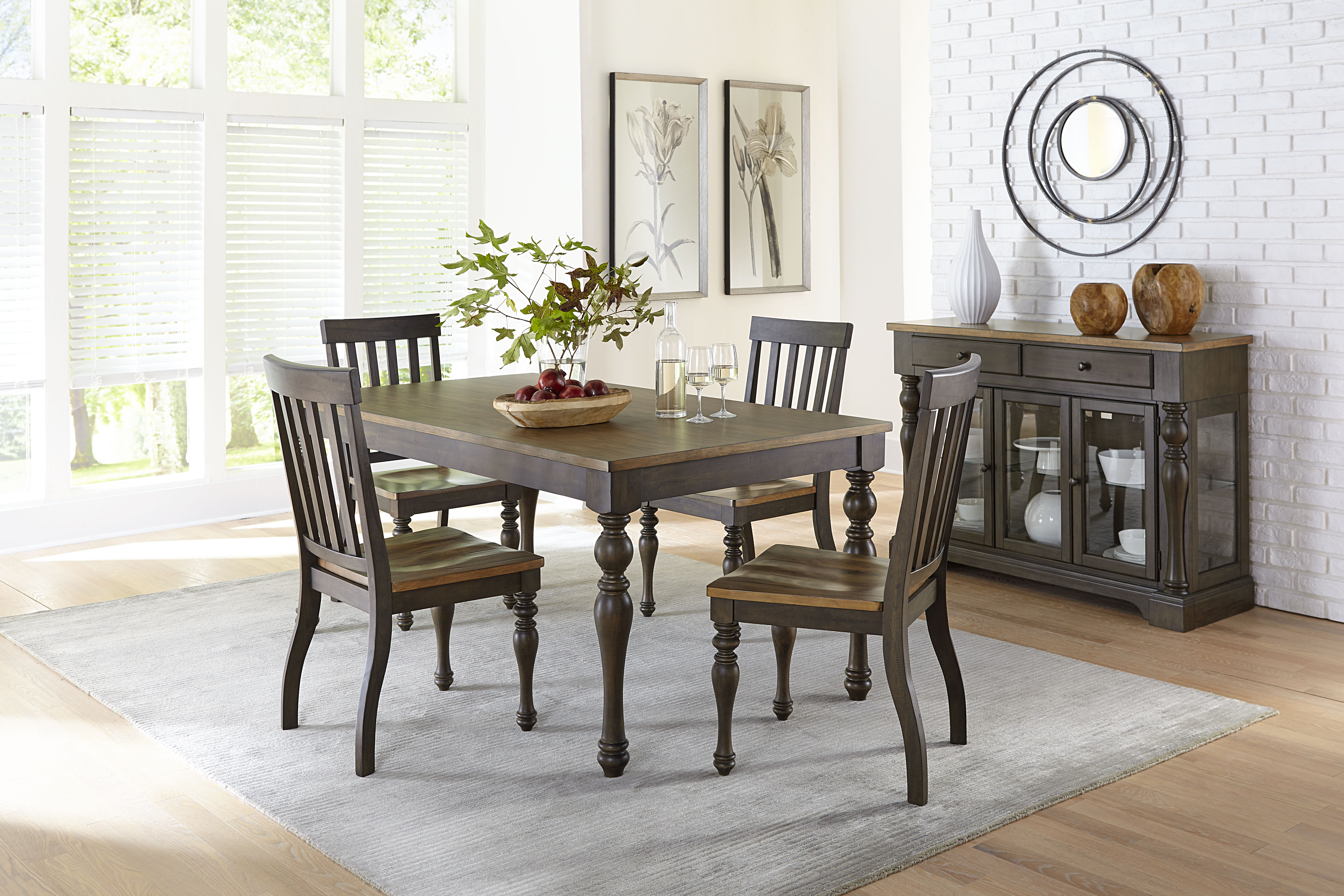 Dunmore 5 piece table American Freight