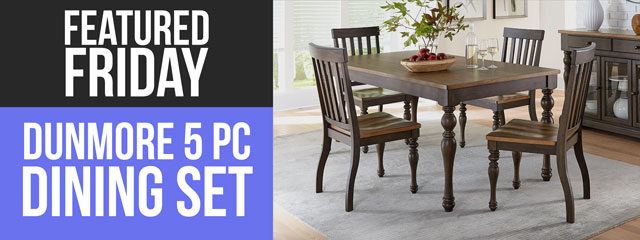 When All is Said & Dunmore: We love this new dining set!