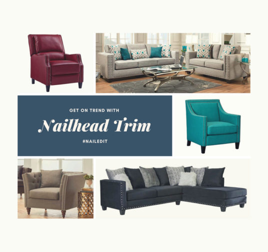 Nailed It! Get on Trend with Nailhead Trim