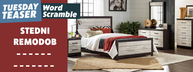 White Bedroom Set: Spring Ready Tuesday Teaser