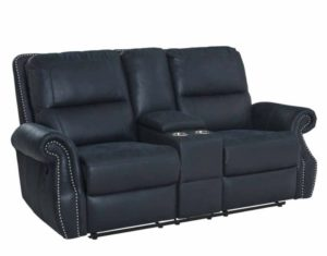 Kingston Sofa with nailhead trim navy blue sofa American Freight