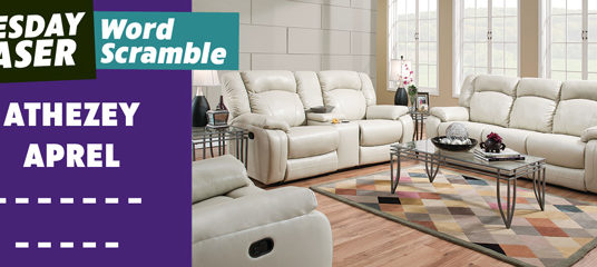 This White Sofa and Loveseat Can't be Beat