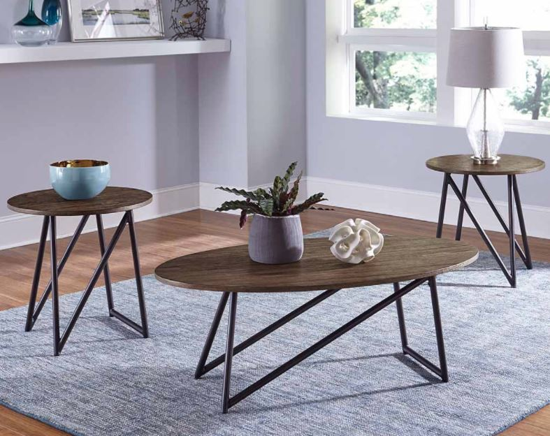 Orion 3 piece table set