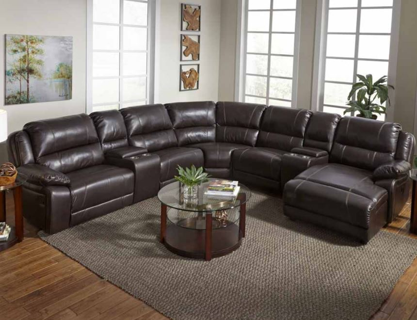 Reclining 4 piece sectional