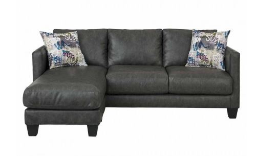 Stallion grey sectional couch
