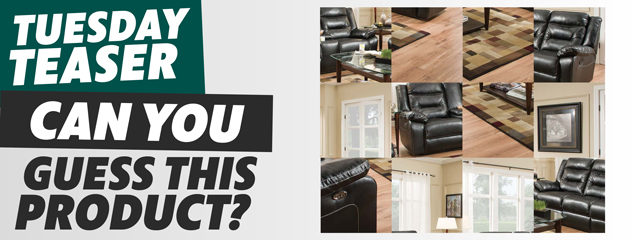 New Products: Black Sofa and Loveseat