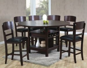 Conner counter height table set