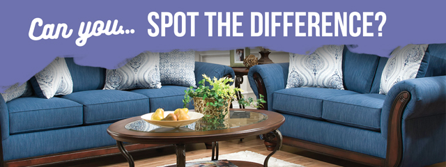 Life's a Beach: Malibu Blue Sofa and Loveseat