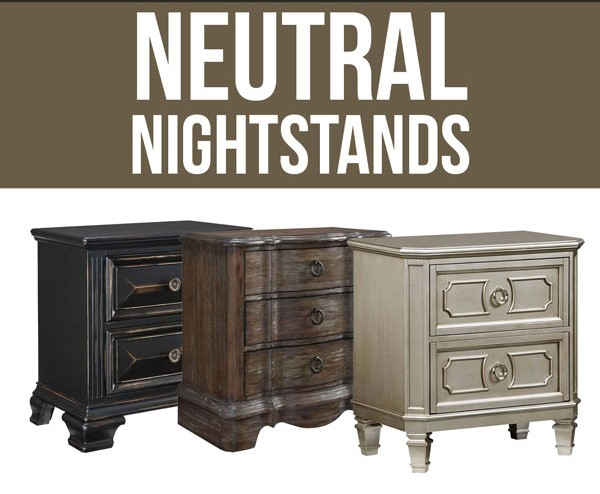 neutral nighstands natural bedroom