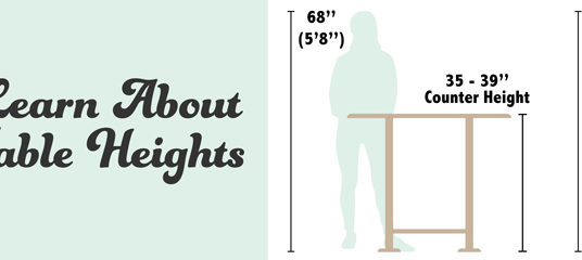 How Tall is Counter Height?