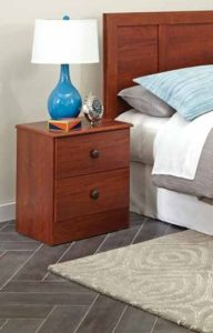 Nightstand- 8 Piece Bedroom Suite