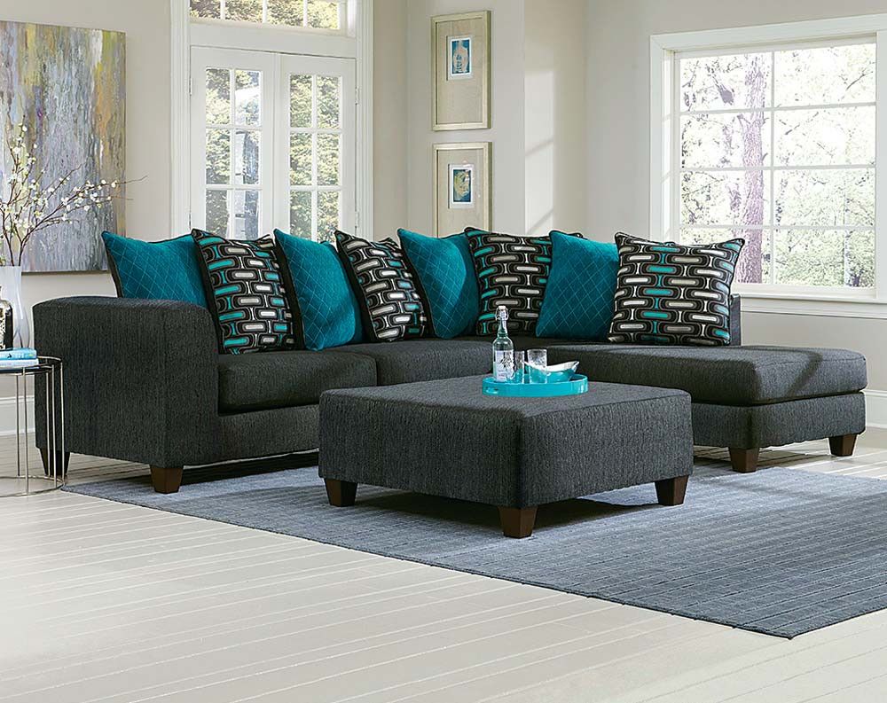 World of Color: Add Blue to Your Living Room