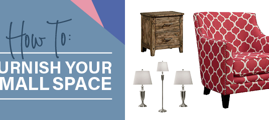 How to Furnish Your Small Space