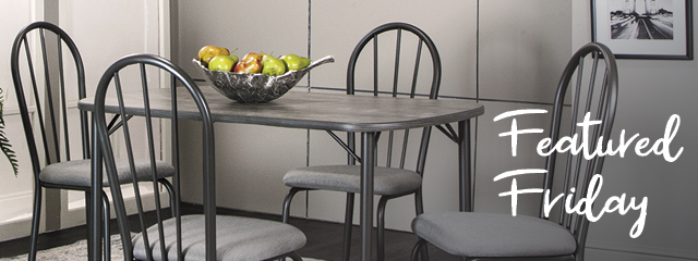 Dine With Delight—This Modern Dinette is a Must-Have