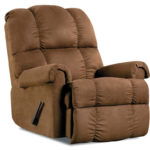 Soft Chocolate Recliner