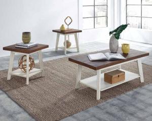 Amelia 3 Piece Table Set