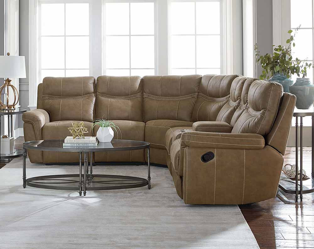 Boardwalk 3 Piece Reclining Sectional Sofa