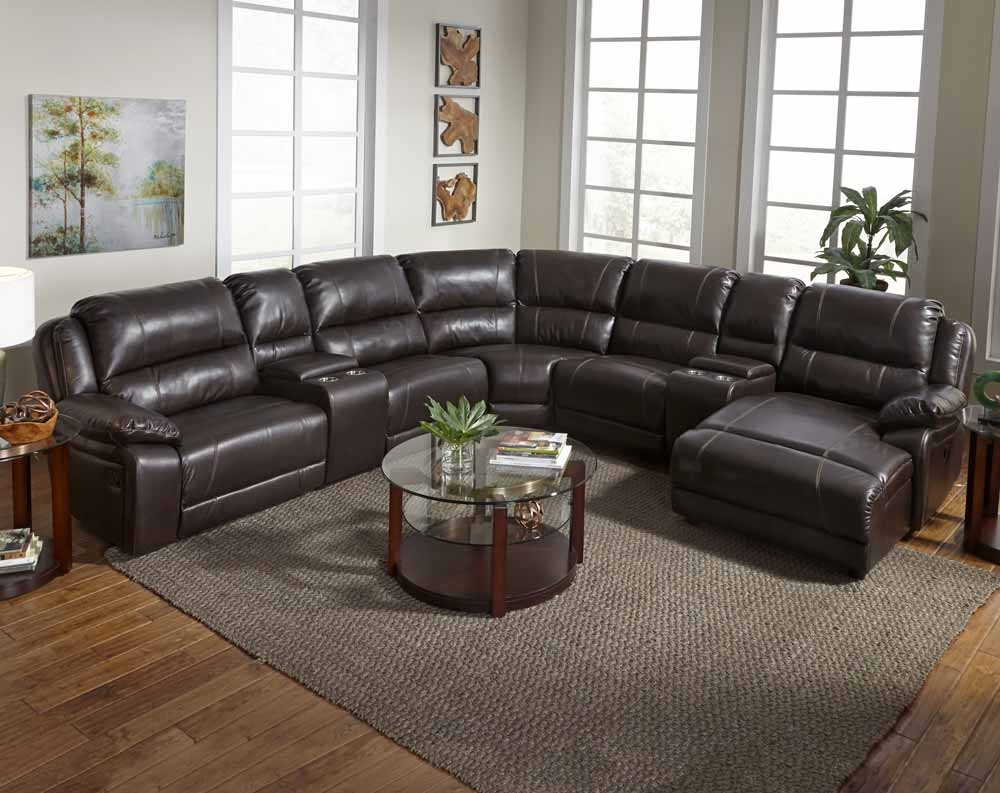 Saunter 4 Piece Reclining Sectional Sofa