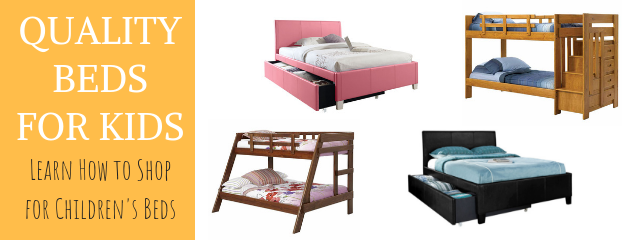 Quality Beds for Kids: Find Your Color and Style | American