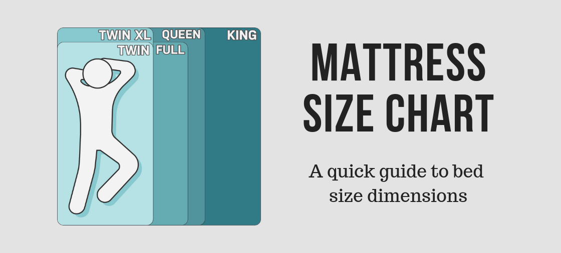 Mattress Size Chart & Bed Size Dimensions