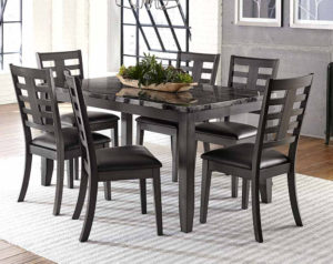 Canaan 7 Piece Dining Set
