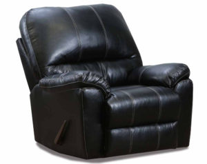 Kiser Black Rocker Recliner