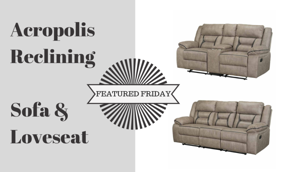 Reach New Style Heights With the Acropolis Sofa and Love