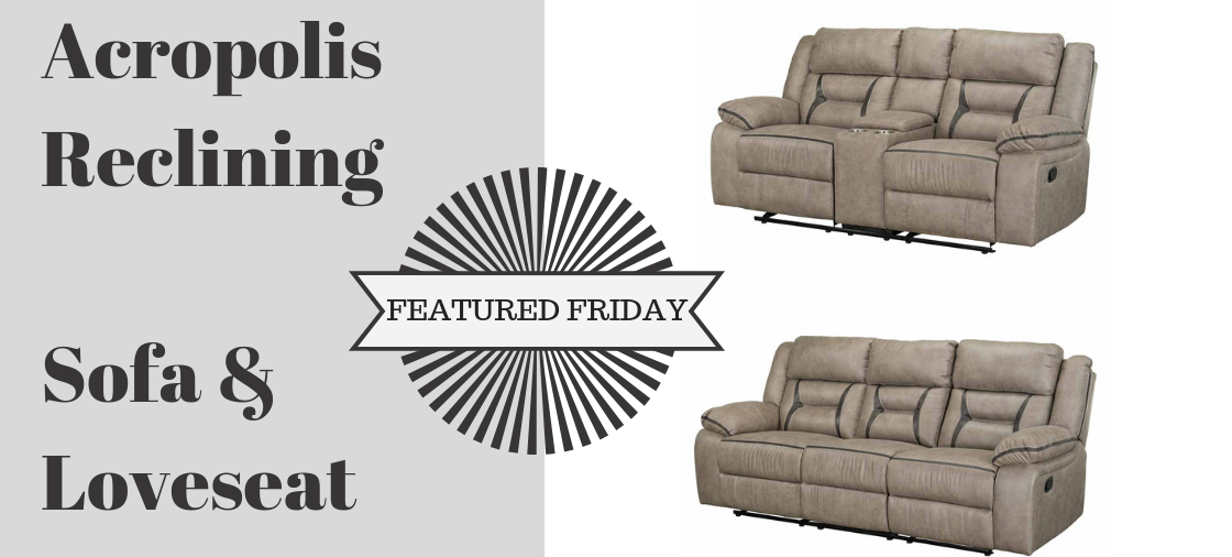 Reach New Style Heights With the Acropolis Sofa and Loveseat