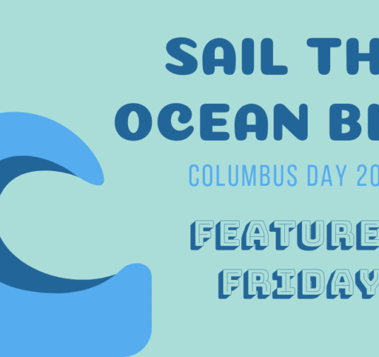 Sail the Ocean Blue This Columbus Day