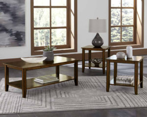 Pendwood 3 Piece Table Set
