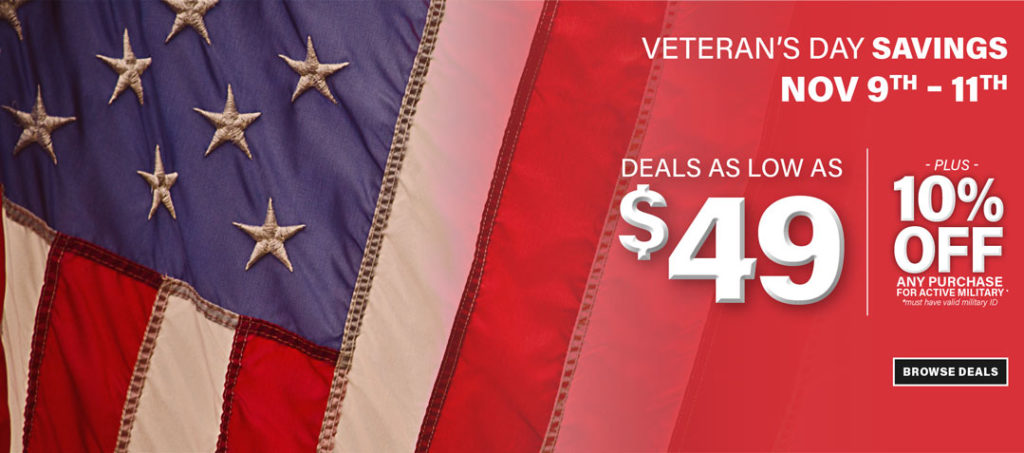 Veterans Day Sale at American Freight Furniture and Mattress