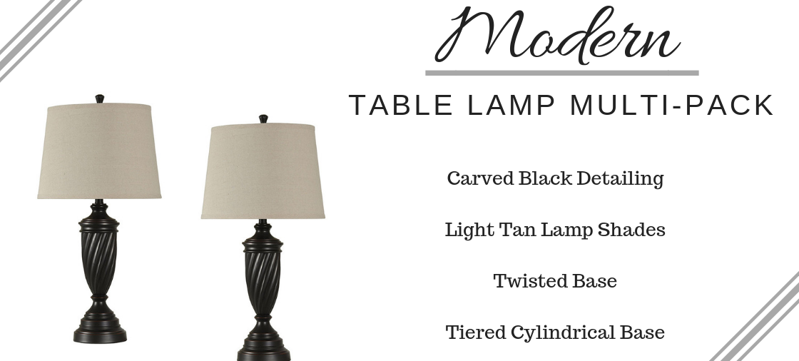 A Perfect Pair of Table Lamps