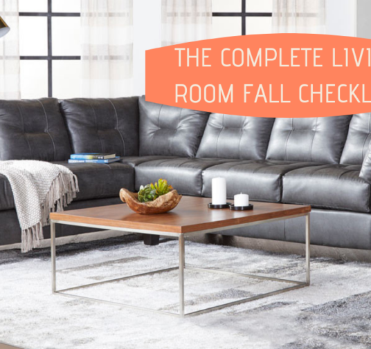 The Complete Living Room Fall Checklist