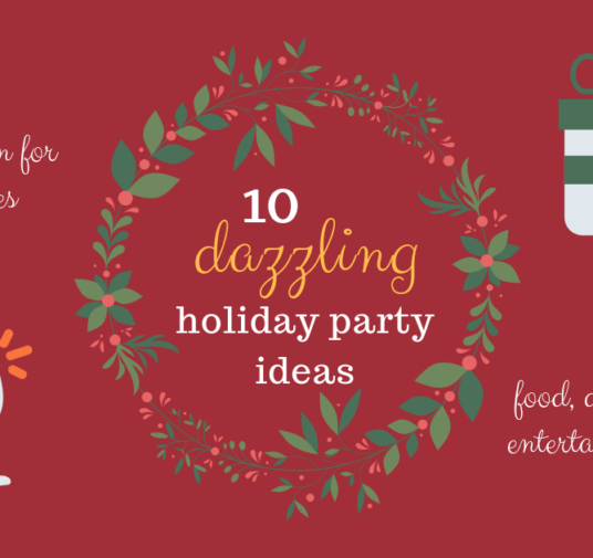 10 Dazzling Holiday Party Ideas