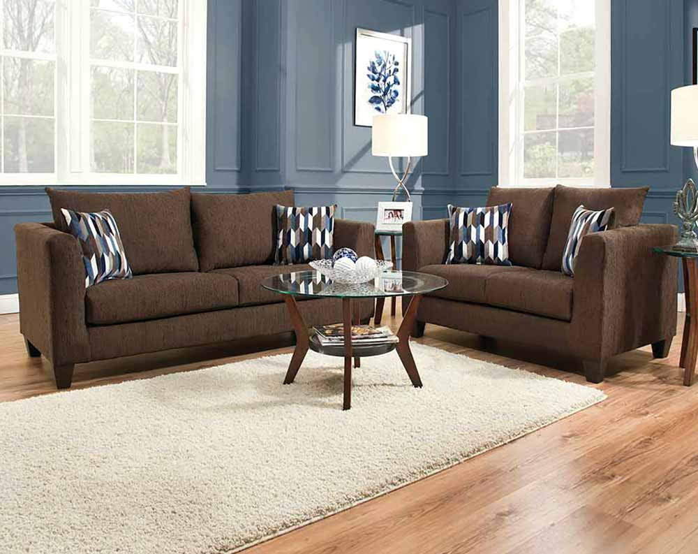 Chocolate Brown Sofa And Loveseat Good Chocolate Brown