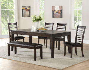 Ally 6 Piece Dining Set