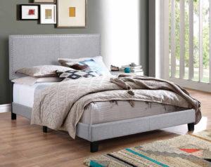 Erin Light Gray Bed