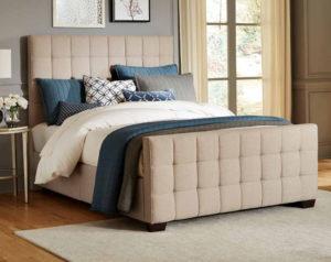 Altura Tan Padded Bed