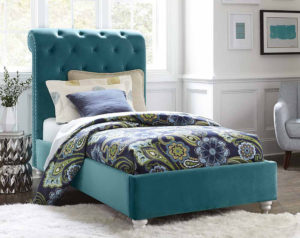 Gabby Teal Bed