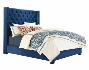Westerly Deep Blue Bed