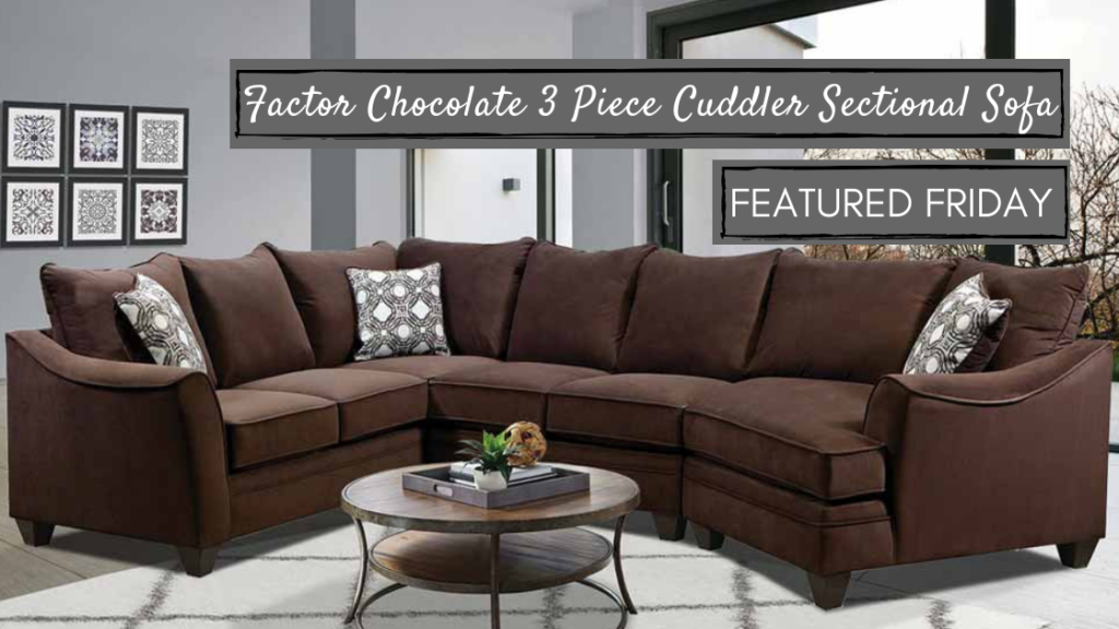Get Comfy on a Cuddler Sectional Sofa