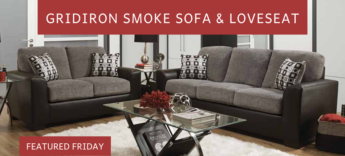 Try a Two-Toned Sofa Set
