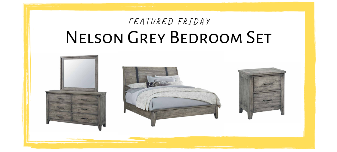 Upgrade to a Grey Bedroom Set