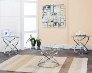 Gyro 3 Piece Table Set
