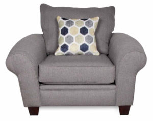 Heritage Gray Accent Chair